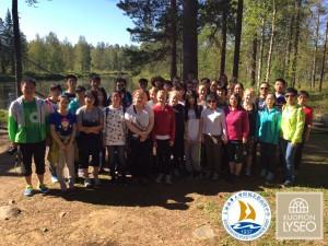 Vaelluksella Tiilikan kansallispuistossa 22.8.2015